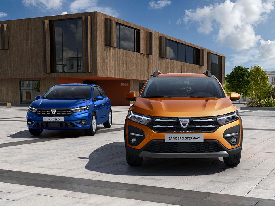 All-new Dacia SANDERO, SANDERO STEPWAY & LOGAN